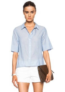 """J Brand <div class=""""product_name"""">Marie Cotton Top</div>"""