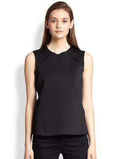 J Brand Eliza Asymmetrical Paneled Neoprene Top
