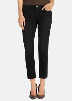 J Brand 'Ellis' Crop Skinny Jeans (Black Code)