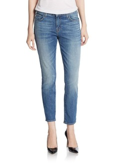 J Brand Ellis Cropped Jeans