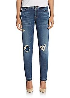 J Brand Ellis Straight-Fit Jeans