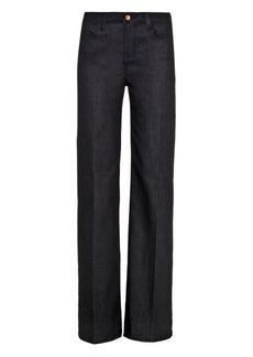 J Brand Eva high-rise wide-leg jeans