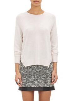 J Brand Exposed-Seam Cashmere Sweater