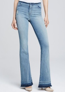J Brand Destructed Maria Flare in Drift