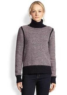 J Brand Gwen Chunky-Knit Turtleneck Sweater