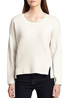 J Brand Helena Mixed-Knit Sweater