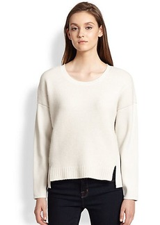 J Brand Helena Mixed-Knit Sweater