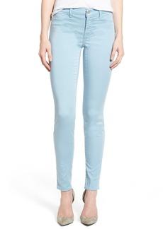 J Brand High Rise Ankle Super Skinny Jeans
