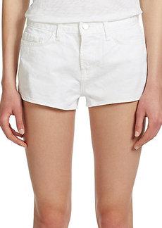 J Brand High-Rise Denim Shorts
