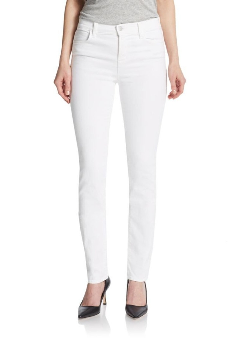j brand j brand high rise rail skinny jeans denim shop it to me. Black Bedroom Furniture Sets. Home Design Ideas