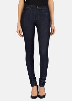 J Brand High Rise Stacked Skinny Jeans (Silence)