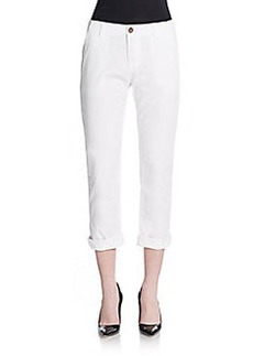 J Brand Inez Slim-Fit Cotton Pants