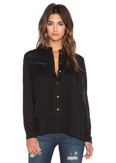 J Brand Irina Button Up Shirt