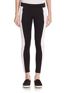 J Brand J Brand Edge Carrillo Tuxedo-Stripe Leggings