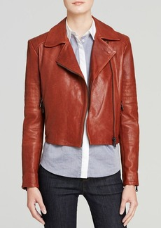 J Brand Jacket - Aiah Mercury Leather