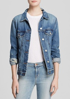 J Brand Jacket - Darci Relaxed Fit Denim