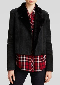 J Brand Jacket - Lana Shearling Leather