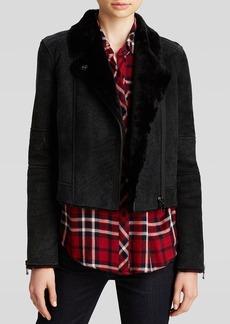 J Brand Jacket - Lana Shearling Leather