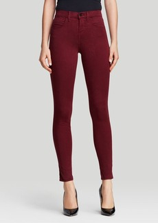 J Brand Jeans - Bloomingdale's Exclusive Maria High Rise Skinny Luxe Sateen in Sangria