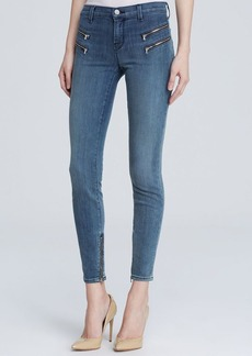 J Brand Jeans - Close Cut Cass Skinny with Zips in Beatnik