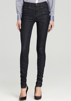 "J Brand Jeans - Close Cut Jess High Rise Stacked 34"" Inseam Skinny in Silence"