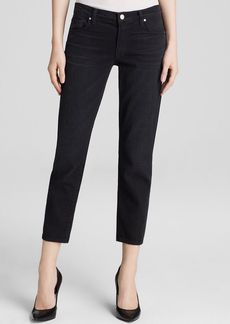 J Brand Jeans - Cropped Ellis Straight in Black Code