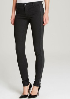J Brand Jeans - Exclusive Photo Ready Devin Tuxedo Stripe Skinny in Vanity