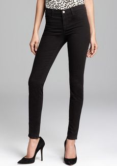 J Brand Jeans - Luxe Sateen 485 Super Skinny in Black
