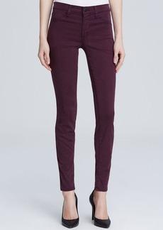 J Brand Jeans - Mid Rise Super Skinny in Syrah