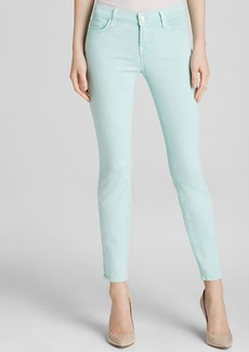 J Brand Jeans - Photo Ready Low Rise Ankle Crop in Sea Green