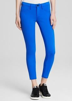 J Brand Jeans - Scuba Mid Rise Crop in Electric Blue