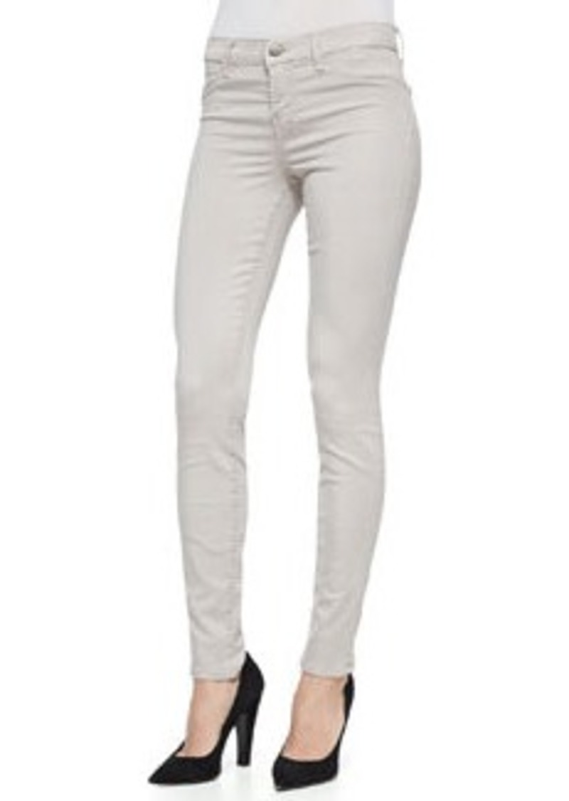 j brand j brand jeans 485 luxe sateen skinny jeans concrete dust denim shop it to me. Black Bedroom Furniture Sets. Home Design Ideas