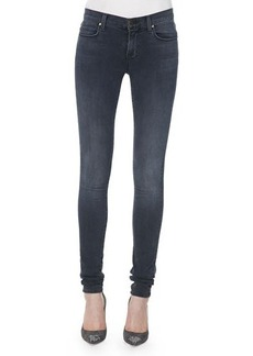 J Brand Jeans 624 Stacked Super Skinny Mid-Rise Jeans, Crush