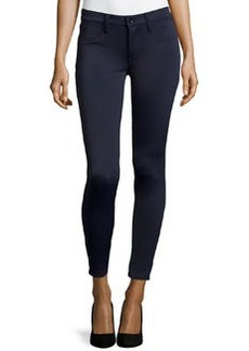 J Brand Jeans 815 Mid-Rise Super-Skinny Pants, Navy Odyssey