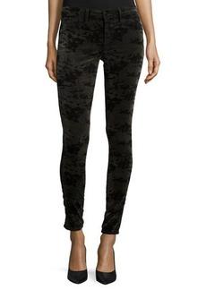 J Brand Jeans 815 Velvet Camo Skinny Pants