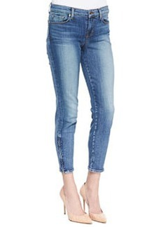 J Brand Jeans 835 Denim Ankle Zip Capri Pants, Tone