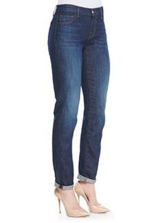 J Brand Jeans 904 Jake Faded Boyfriend Jeans, Dark Side