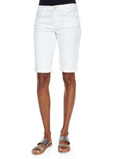 J Brand Jeans Beau Rolled-Hem Bermuda Shorts, Awaken