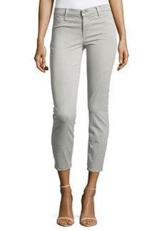 J Brand Jeans Cropped Rail Jeans, Gray