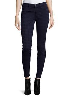 J Brand Jeans Diamond-Jacquard Super-Skinny Ponte Pants