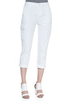 J Brand Jeans Dylan Pure White Cargo Pants