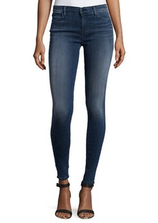 J Brand Jeans Faded Super-Skinny Denim Leggings