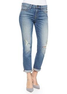 J Brand Jeans Georgia Mid-Rise Slim Boyfriend Jeans, Keeper