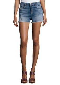 J Brand Jeans Gracie High-Rise Cuffed Shorts