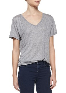 J Brand Jeans Janis V-Neck Jersey Tee