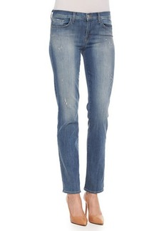 J Brand Jeans Jude Faded Distressed Slim Jeans, Mesmerize