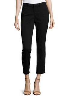 J Brand Jeans Kailee Slim Cropped Trouser, Black