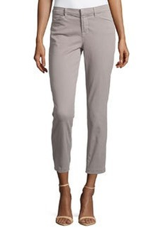 J Brand Jeans Kailee Slim Cropped Trouser, Limestone