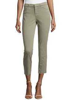 J Brand Jeans Kailee Slim Cropped Trousers, Garrison