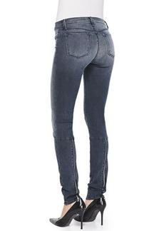 J Brand Jeans Kamila Crush Zip-Back Skinny Jeans